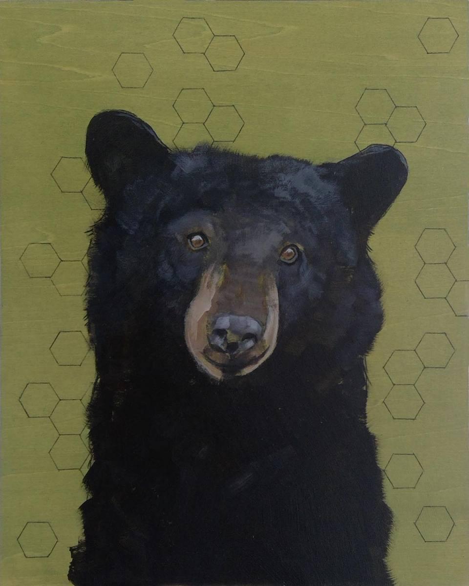 Sashiko-Woodland-Black-Bear