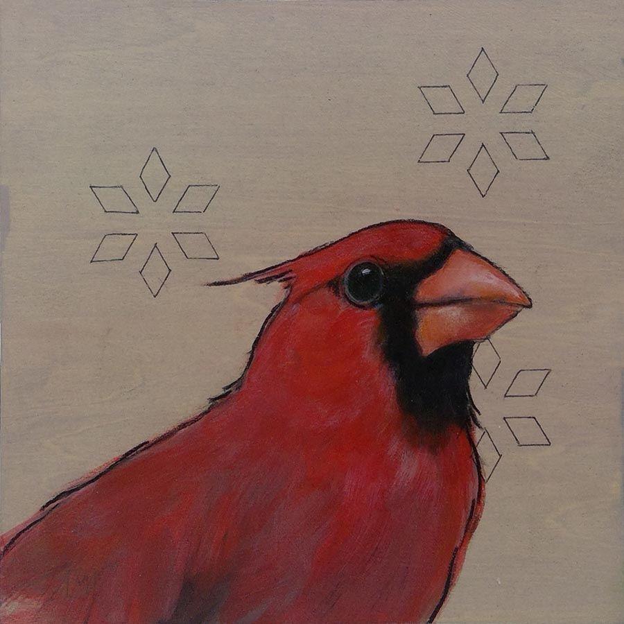 Sashiko-Woodland-Cardinal