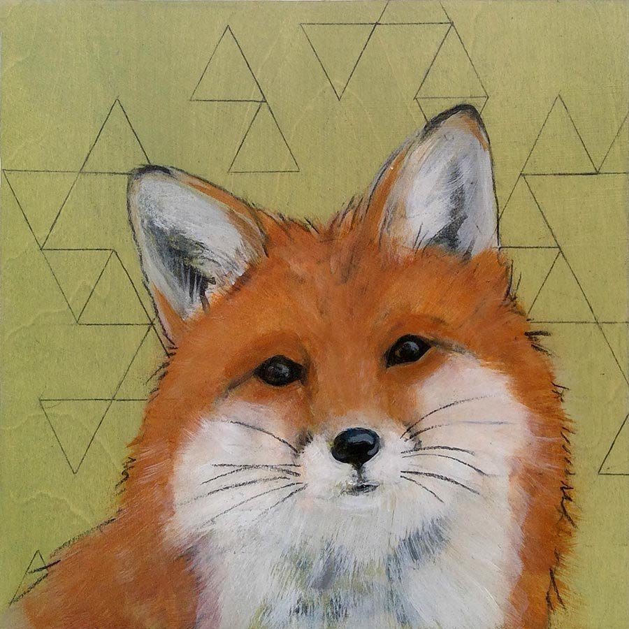 Sashiko-Woodland-Fox